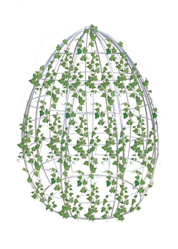 Hire Egg Frame with Ivy