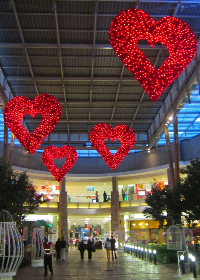 Clearwater Mall Hearts