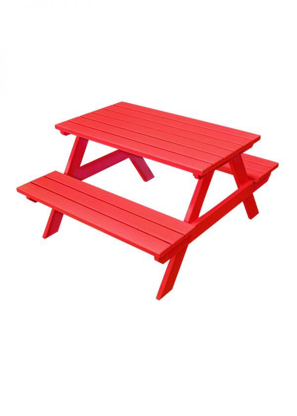 red kids bench