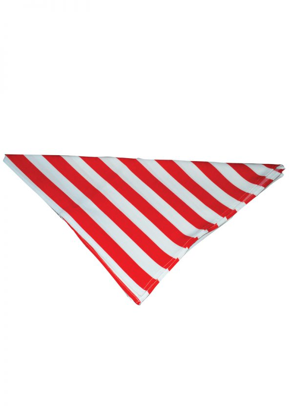 red and white striped overlay