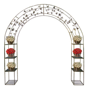 Arch with Flower Decor