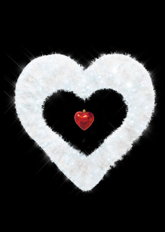 Swag Heart white