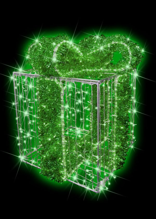 Green Illuminated Gift