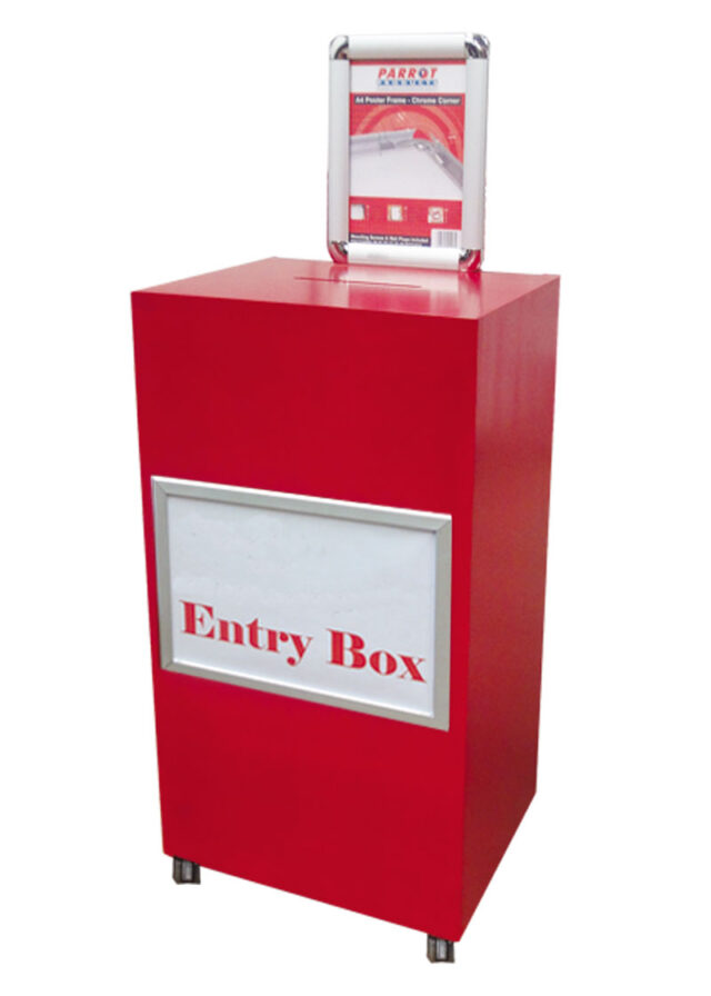 entry box with poster frame