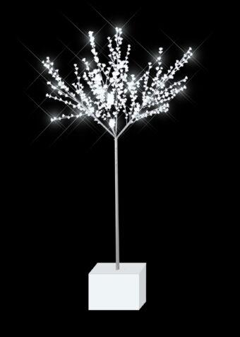 Blossom Light Tree on Plinth