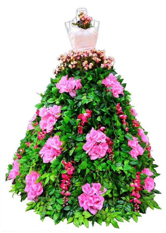 Flower-Dress-Pink