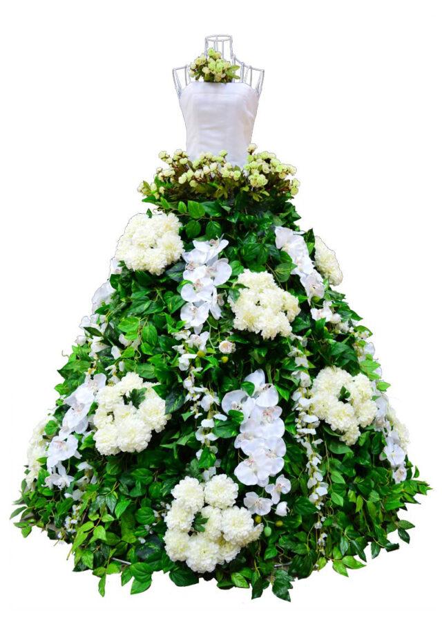Flower-Dress-White