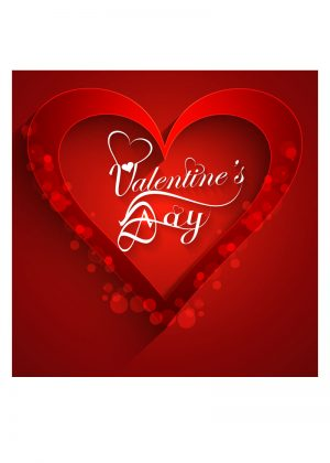 valentines day backdrop