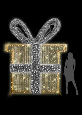 2D Illuminated Gift