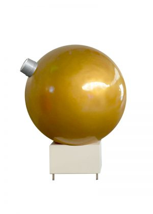 Giant Bauble on Plinth