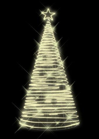 Rope Light Tree Warm White