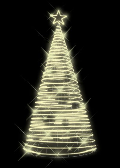 Rope Light Tree Warm White