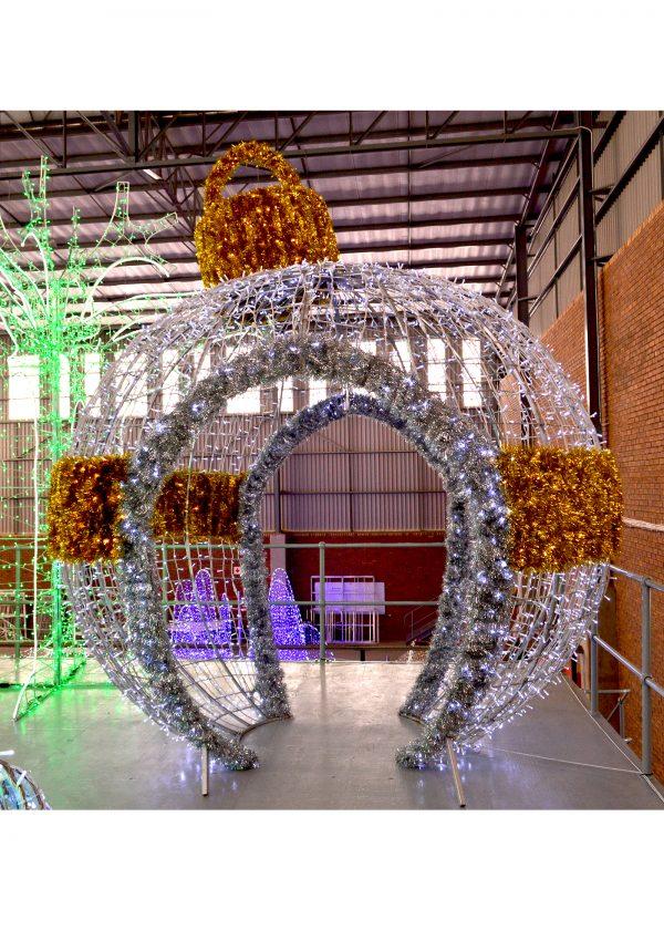 Giant Illuminated Bauble