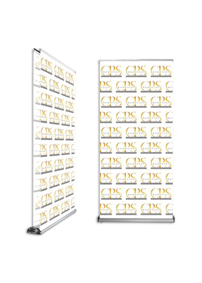 Branded Double sided Pull up banner