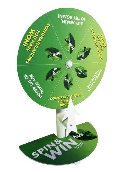 Branded Spin 'n Win Wheel 2