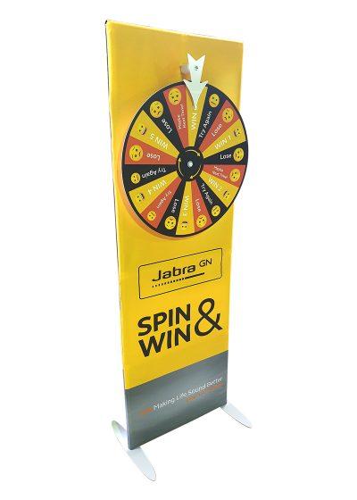 Branded Spin 'n Win Wheel 4