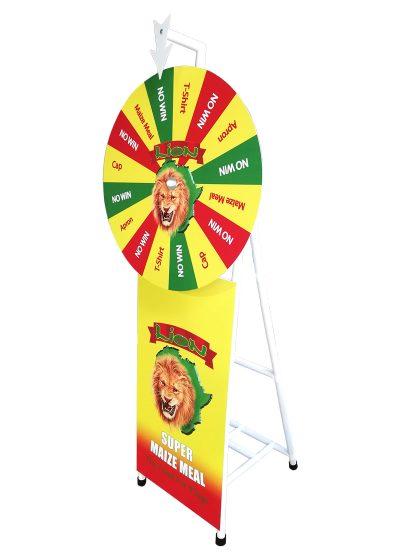 Branded Spin 'n Win Wheel 6