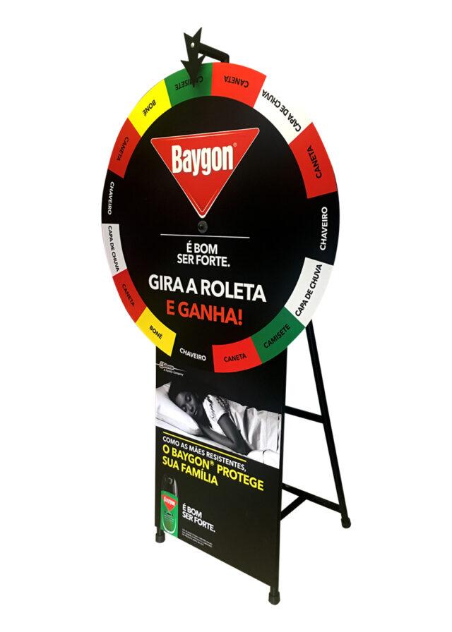 Branded Spin 'n Win Wheel 8