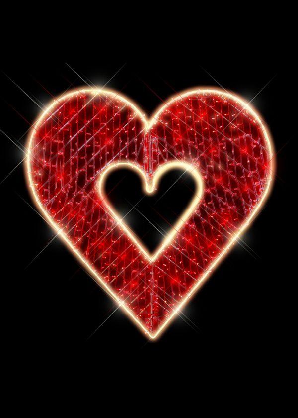 GIANT HEART LIGHTS
