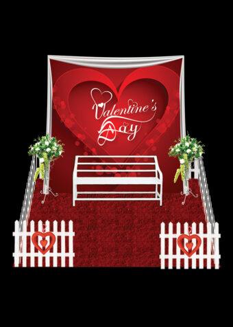 Valentine Photo Booth Red