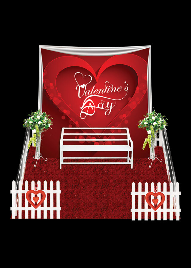 Valentine Photo Booth Red