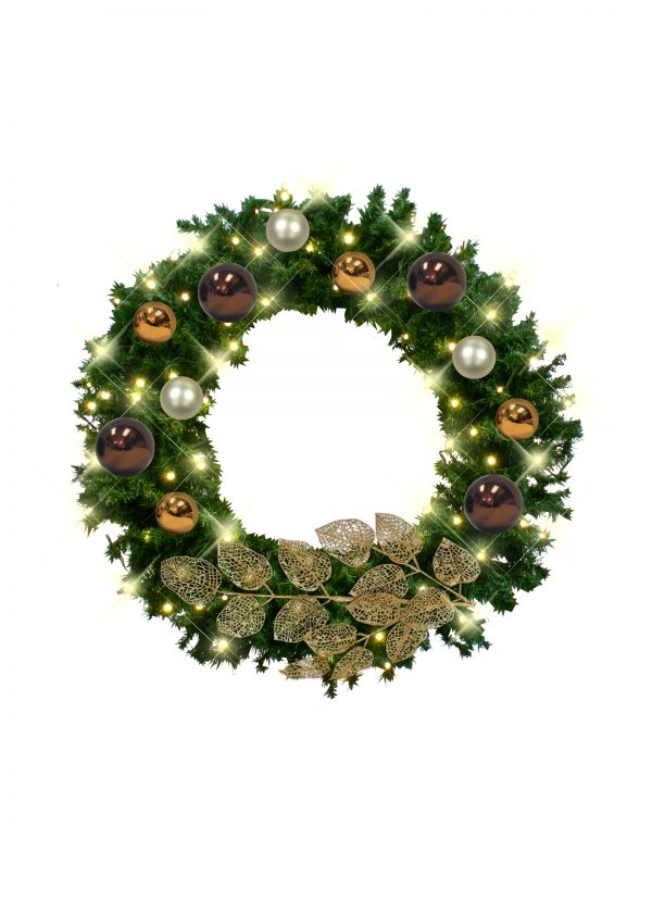 African Christmas Wreath