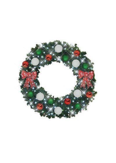 Italian Style Christmas Wreath