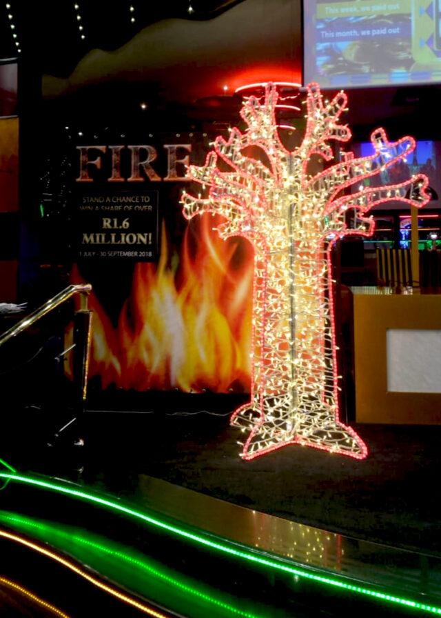 LED Baobab Tree Warm White Red