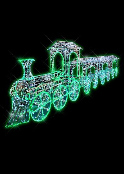 LED Train 8m